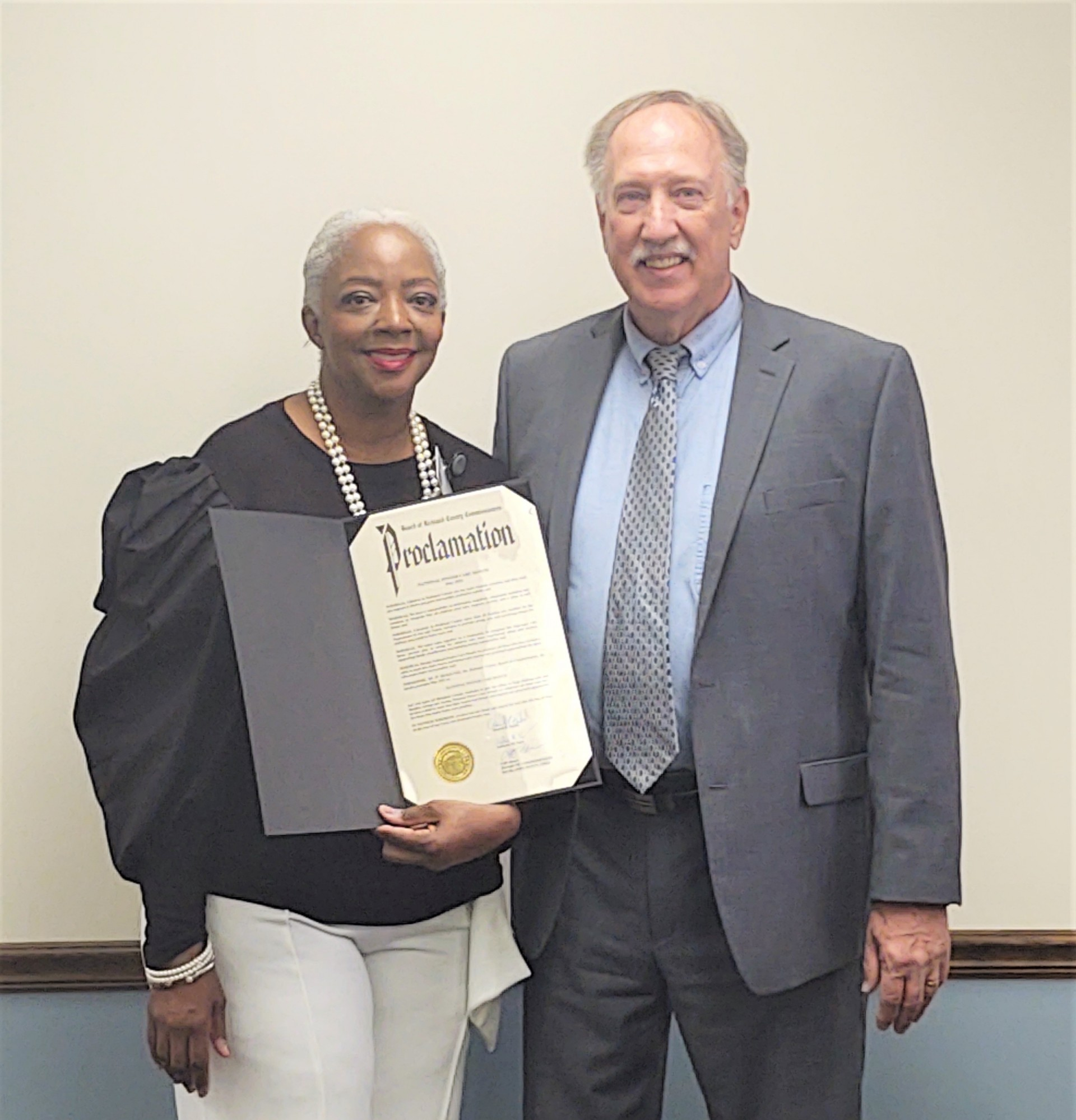 County Commissioners observe National Foster Care Month with proclamation