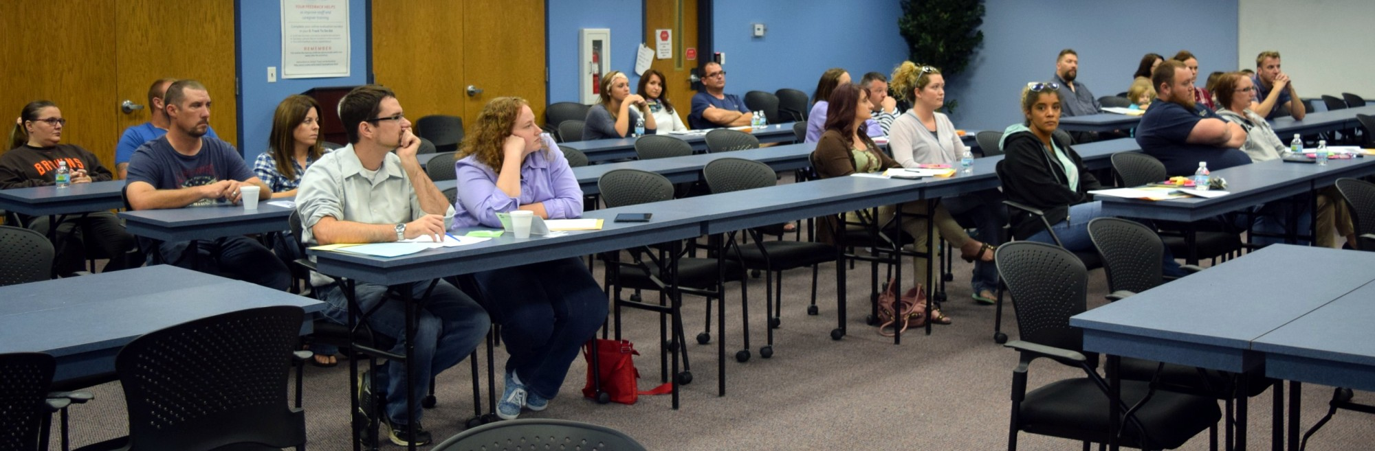 Prospective foster parents learn about Richland County Children Services