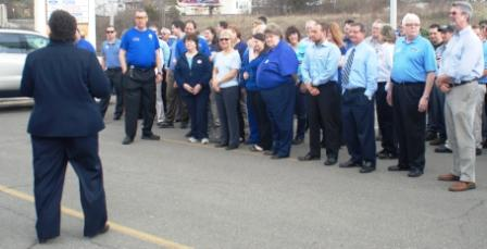 2013 Wear Blue Day rally at Graham Automall Richland