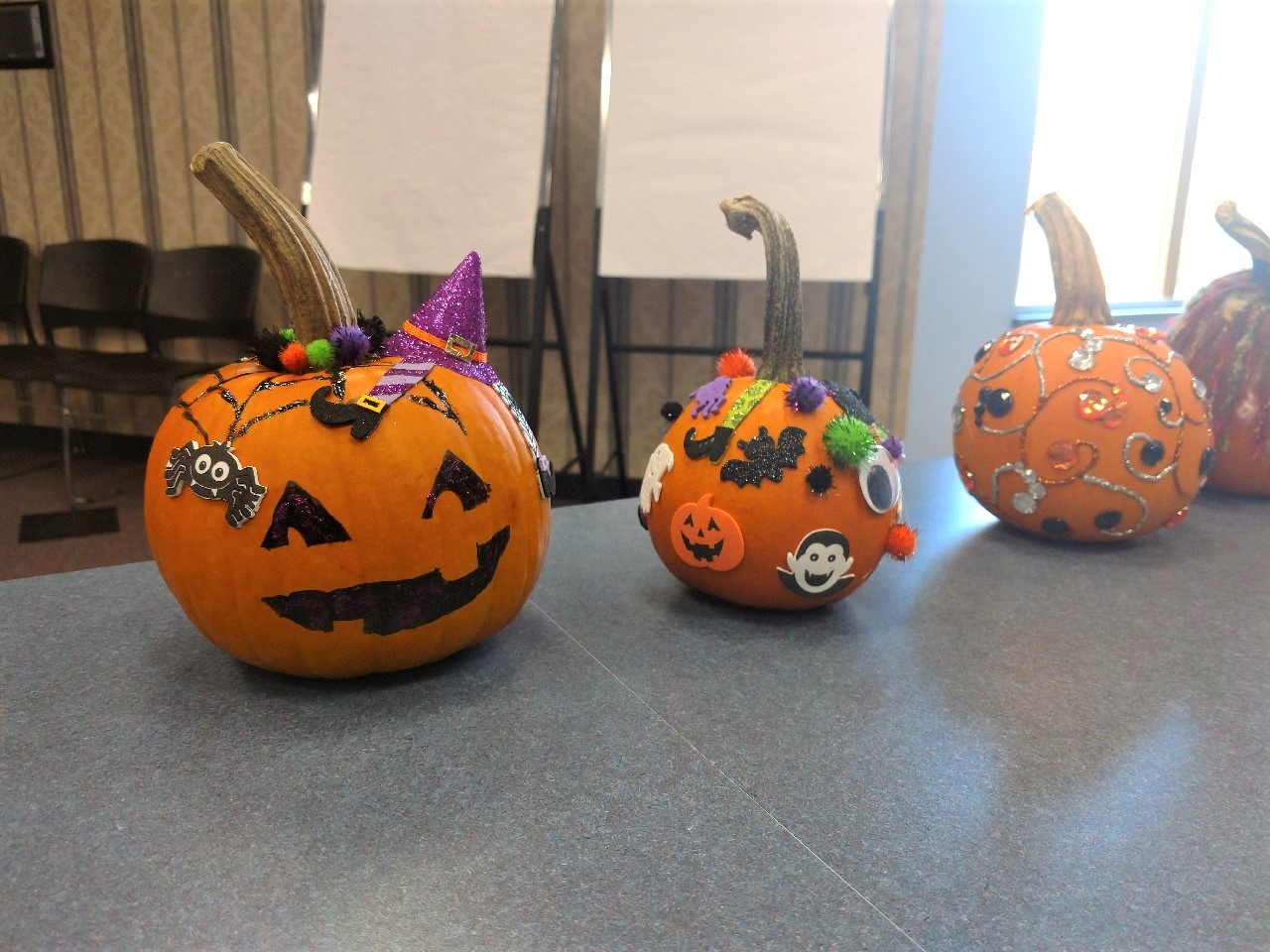 RCCS celebrates fall decorating pumpkins