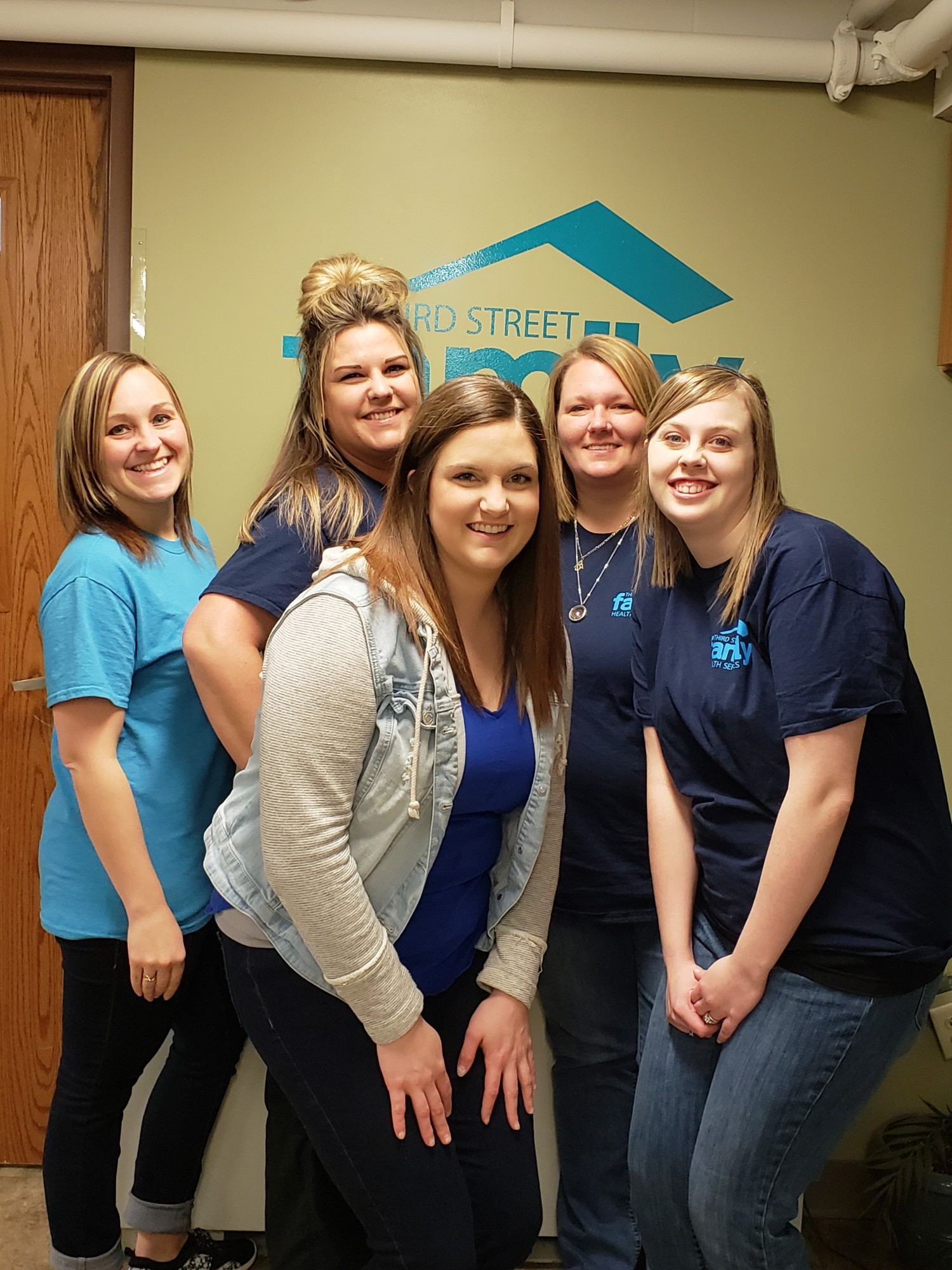 Third Street Family Health Services  Wear Blue to Work 2018